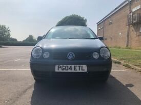 Volkswagen Polo 1.2 E 3dr Cheap to run and maintain 2004 (04 reg), Hatchback 108,000 miles