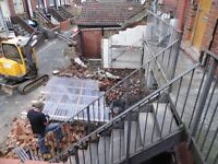 GROUNDWORKS , DEMOLITION , EXCAVATIONS CONTRACTORS IN LEEDS