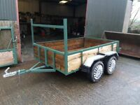 WANTED TWIN AXLE TRAILER