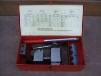 """Brake Pipe Flaring Kit 3/16"""" SAE, 4.75mm DIN"""