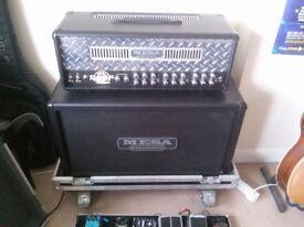 Mesa Boogie dual rectifier HALF STACK 100W Hard case cab head