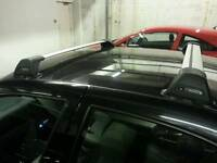 Roof bars/roof rack and thule bike carrier