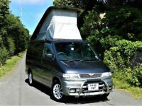 MAZDA BONGO CAMPERVAN AUTO 2.5 + DIESEL + 8 SEATHER + ELECTRIC POP UP ROOF + FSH + LONG MOT
