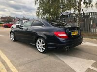 Mercedes Benz C Class Diesel Coupe - C220 CDI BlueEFF AMG Sport Edition
