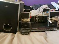 Sony DVD HOME THEATRE SYSTEM DAV-DZ230