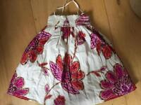 Gap Summer dress 3 yrs - strappy and smocked.