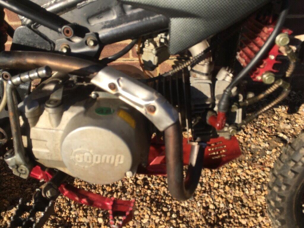 Stomp 140cc