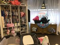 Baby boys and girls itams at rags to riches children's re-sale store