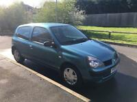 Renault Clio Campus 1.2, low mileage and full service history