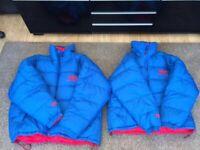 Helly Hansen Unisex Reversible Puffer Jackets Like New Ideal Winter Jacket £70 EACH
