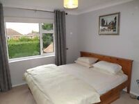 Double bedroom in spacious family home - plus internet access - £430 plus £200 deposit