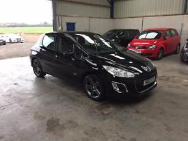 2012 Peugeot 308 sportium 1.6cc 1 owner excellant condition guaranteed cheapest in country