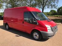 FORD TRANSIT 2.2 TDCI 2013 EURO 5 1 OWNER WITH FULL SERVICE HISTORY LWB MED ROOF