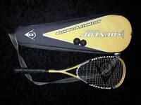 Dunlop hotmelt squash racquet