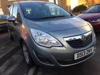 2013 Vauxhall meriva 1.4i exlusive 16v 24.000 miles