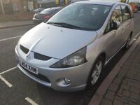 LPG GAS CONVERTED MITSUBISHI GRANDIS 7 SEATER MOT RUNS VERY GOOD GOOD CONDITION ONLY 50P A LITRE