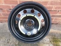 Vredestein Space Master 195/75-18 106P, collapsible spare wheel, space saver spare wheel.