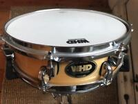 """WHD birch snare 13""""x3.5"""" + pearl stand"""