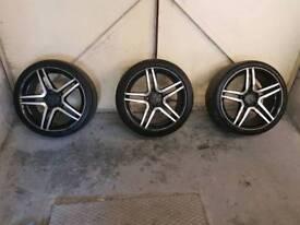 """18"""" Mercedes amg alloy wheels"""