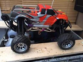 Rc nitro savage