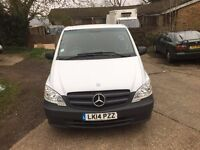 mercedes vito long wheel base.2014.AUTOMATIC.one owner.full history