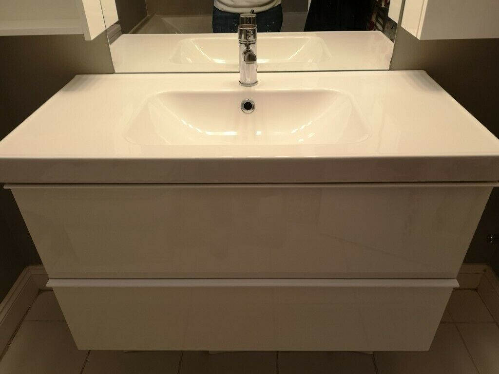 Ikea Bathroom Vanity Unit With Sink Wall Units Tap Included