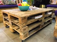 Wood Palette Coffee Table