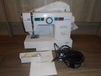ELNITA BY Elna Sewing Machine with foot Control vgc