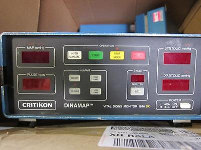 Critikon Dinamap Vital Signs 1846sx Monitor Dial Lab Experiment Works Well