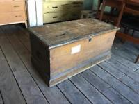 Antique Linen Box / Trunk