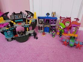 Used imaginext batman toys