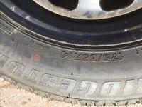 Bridgestone tyre 175 65 14
