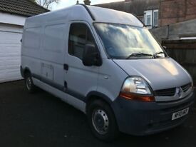 Renault Master Medium Wheelbase Van - High roof - Lined with 16amp Power - 2010