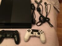 Ps4 500gb with 2 controller and 5 games (See 2nd pic) fully working £230 NO OFFERS. CAN DELIVER