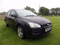 2008 FORD FOCUS 1.6 DIESEL STYLE..MOTED TO JUNE 2018.POSSIBLE PART EXCHANGE..CREDIT CARDS ACCEPTED
