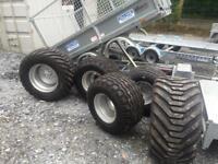 Agri trailer tyres for silage trailers farm trailer truck trailer wheels