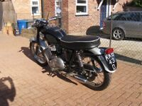 Triumph Motorcycle Thunderbird 1966
