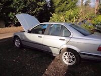 BMW 318i SE. E36, 99,000 miles. Best (and cheapest) example advertised in Scotland!!