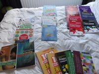 Bundle of teaching text books and study guides, ideal for trainee / NQT teachers in primary or SEN