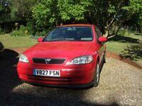 Vauxhall Astra 1598cc