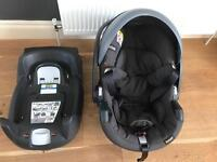 First baby car seat Besafe with Isofix