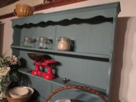Farmhouse Kitchen Dresser Storage Drawers Cupboards Rustic Pretty