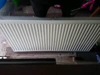 Double radiator white