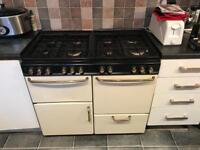 1000mm 8 ring gas/electric range cooker