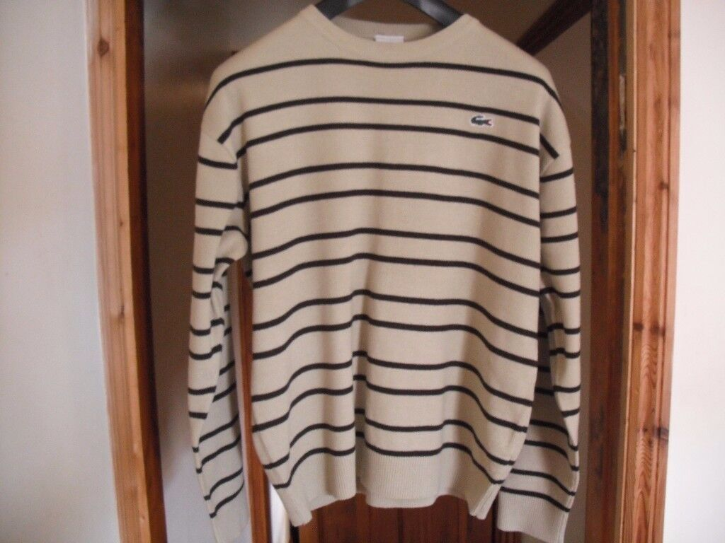 Mens Genuine 'Lacoste' jumper size Large only worn twice.