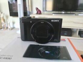 SONY CYBER-SHOT DSC-HX90. 30X Plus OPTICAL ZOOM.ELECTRONIC VIEWFINDER