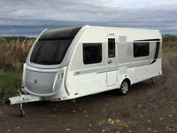 Knaus StarClass 560 4 berth touring caravan