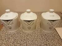 Kitchen tea,coffee and sugar pots