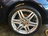 "alloys 18"" Mercedes or other fittings"