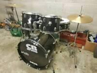 CB SP Drum Kit inc Hardware & Cymbals